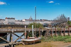 Nantes (alexis boidron) Tags: france de  tour bretagne bateau loire fosse quai nantes bord fleuve atlantique