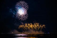 Ostsee in Flammen 2015 (N.Naumburger) Tags: strand canon deutschland eos 50mm wasser nacht august ostsee farben feuerwerk 6d flammen 2015 nnp grömitz ostseeinflammen nielsnaumburgerphotography
