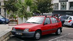 Opel Kadett LS 1990 (XBXG) Tags: auto old france classic portugal car vintage germany deutschland automobile burgundy voiture german frankrijk bourgogne ls 1990 opel deutsch 89 ancienne kadett duits auxerre opelkadett yonne allemande vl0522
