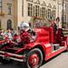 Ahrens-Fox brandweerauto - ex Brandweer Rotterdam - Coolsingel - Rotterdam