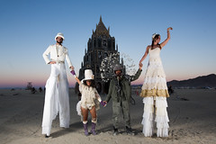 Burning Man 2015: Carnival Of Mirrors (jamenpercy) Tags: city carnival wild man black art festival rock america desert acid nevada culture mirrors surreal blackrockcity burning stilts percy 2015 jamen