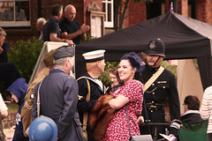 IMG_0524 (Yorkshire Reckless & Proud) Tags: camp tractor bus car bike bicycle hospital soldier army fire dance jeep wwii north helmet 1940 navy engine police sailor jive airforce reenactment raf yanks paras thoresby wraf policcecar
