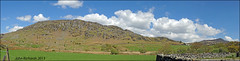 Panorama. Capel Curig. (john.richards1) Tags: sky panorama mountains wales landscape 11 hills elements fields capel northwales curig