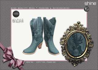 shine by [ZD] - Vintage Cowboy Boots