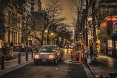 Kiyamachi Street  in Japan Kyoto . . HDR   DSC_6613 (Ming - chun ( very busy )) Tags: road street travel japan cherry 50mm nikon kyoto blossom traditional scene   cherryblossom   gion nikkor f18   hdr d800   streetshot streelamp 50mmf18   texi       traveljapan nikon50mmf18 f1850mm   streetsnap streetscence  sukura