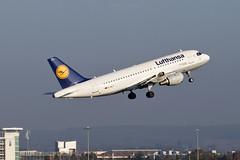 Lufthansa Airbus A319 D-AILT Birmingham Airport Sunday 01/11/2015 (Paul-Green) Tags: nov uk travel november plane canon airport birmingham mark aircraft air ii 7d airbus mk2 lufthansa a319 2015 bhx dailt lh955