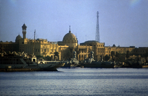 "Ägypten 1983 (06) Alexandria: Ras el Tin Palace • <a style=""font-size:0.8em;"" href=""http://www.flickr.com/photos/69570948@N04/22323767654/"" target=""_blank"">View on Flickr</a>"