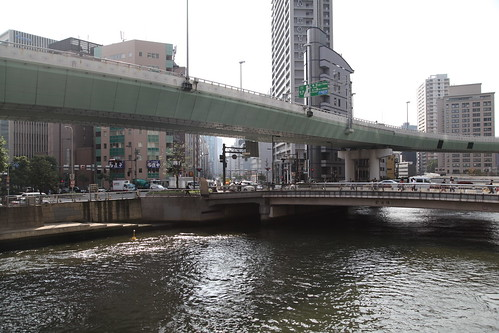 土佐堀川と肥後橋