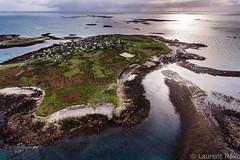 Molene Island (Brestitude) Tags: sea mer france brittany bretagne aerial breizh finistère île aérien archipel iroise molène brestitude ©laurentnevo2015