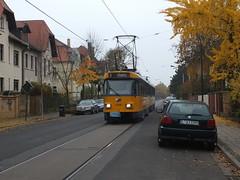 Linie 9 LVB (Gerard Stolk (retour de l'Occitane)) Tags: tram leipzig streetcar der trams linie9 einstellung strasenbahn markkleebergwest