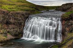 Þórufoss / Laxá i Kjós (Panasonikon) Tags: wasserfall island hdr iceland þórufoss nikond5100 nikkor3518 panasonikon landschaft landscape fluss river