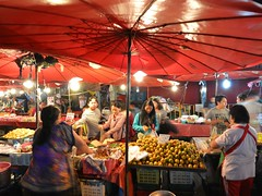 Parasols ( , Waroros Market) (kawabek) Tags: thailand market stall chiangmai          parsol