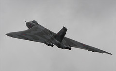 Avro Vulcan XH558 The Spirit Of Great Britain (swlphil) Tags: day force britain spirit air great v vulcan bomber avro the yeovilton rnas xh558 of