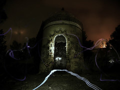 Winter ghosts (Guillem Rivas Castella) Tags: building abandoned night painting ghost hunted ight