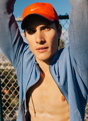 Photo Shoot : Zach (jkc.photos) Tags: shirtless man male sport athletic model photoshoot outdoor runner physique