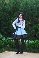 IMG_8070 (firecloak) Tags: blue girl dress cosplay maid silky kyoya arda luthien hostclub ouran