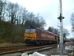 60024 TnT 60007 6F05 Tunstead - Oakleigh (Diverted), Chapel-en-le-Frith 27/12/11 (Neil Altyfan - Railway Photography) Tags: oakleigh chapelenlefrith tunstead 60007 60024 6f05 divertedhoppers