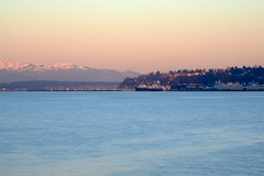Winter Morning (zenseas) Tags: seattle morning winter early washington waterfront explore pacificnorthwest pugetsound olympics elliottbay myrtleedwardspark olympicmountains coldmorning myrtleedwards explored
