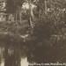 NW Wellston Manistee MI RPPC c.1920 Manistee Fishing & Sportsmans Cabin Retreat on PINE CREEK Fishing for BROWN RAINBOW BROOKIE TROUT GLORY FISHING DAYS 2-2