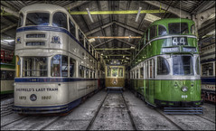 Crich Tramway Village 8 (Darwinsgift) Tags: crich tramway village matlock derbyshire national tram museum hdr photomatix voigtlander 20mm f35 color skopar nikon d810 tourism england uk