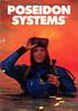 Poseidon Systems catalogue 1984 (Arne Kuilman) Tags: poseidon poseidonsystems poseidoncatalogue catalogue catalogus magazine model cover front 1984 poseidonindustriab sweden zweden diving duiken retro wetsuit drysuit woman