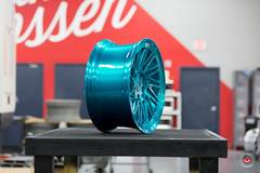 Vossen Forged- LC Series LC-105T - Deco Teal - 48932 -  Vossen Wheels 2016 -  1005 (VossenWheels) Tags: brushed decoteal forged forgedwheels lc lcseries lc105t madeinmiami madeinusa vossenforged vossenforgedwheels vossenwheels2016