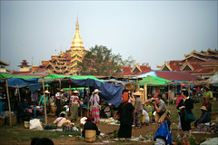 Market day (*Kicki*) Tags: market marketday people myanmar burma inlelake inle inlaylake inlay business shopping pagoda temple shanstate longyi