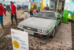 National Ploughing Championships 2016 (3) (soilse) Tags: belfast belfastbuiltsportscar countyoffaly dmc deloreanelectricvehicle deloreanmotorcompany deloreanautomobile deloreanmotorcar deloreansportscar dunmurry esb esbecars electricitysupplyboard ireland irishploughing johndelorean liw887 npa nationalploughingchampionships2016 offaly queensuniversity screggan tullamore agricultural agriculture automobile car competition crowds ecars electriccar electriccartests fair farmers farming fields gullwingedcar motorcar outdoors people ploughing ploughing2016 ploughingchampionships ploughingcompetition sportscar steelbodiedcar supportingabetterfuture tractors