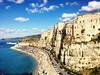(enricomoraschetti) Tags: tropea calabria italy sun sea sky cityscape city architecture