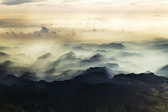 Into the Fog, Land is Descending (KamrenB Photography) Tags: kamgtr kamrenb photography land landscape scape mountain mountains range hidalgo mexico mexican rocks clouds sky aerial plane ground fog foggy cloudy morning flight formation geography geo geographic terrain earth beauty beautiful amazing light lighting dark nice travel country side countryside canon 6d eos 24105 l view scene scenic peaks tops mt mount mtn mont monte latin america hispanic spanish province cool process town people rural