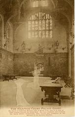 1905 London (Steenvoorde Leen - 2.3 ml views) Tags: londen london 1905 ansichtkaart postkaart postcards postkarte karte card dhost hamptoncourtpalace great britain gb england