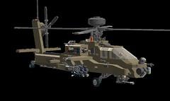 AH-64 longbow apache (komjatiistvan76) Tags: lego ldd helicopter apache ah64 longbow