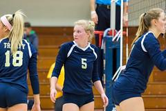 2016-10-14 Trinity VB vs Conn College - 0181 (BantamSports) Tags: 2016 bantams college conncollege connecticut d3 fall hartford nescac trinity women ncaa volleyball camels