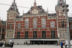 Amsterdam (crawlingindark) Tags: amsterdam netherlands travel holidays architecture building nemo museum bike view city
