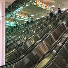 infinito (foto*grafo) Tags: escalator mirrors reflections store