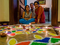 Tiya, Mike and Nisha (Mike Prince) Tags: artandarchitecture bangalore bengaluru diwali family frazertown holidaysandcelebrations india karnataka mikeprince misra nishamisra paintings prince rangoli tiyaprince