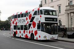 LT158, LTZ1158, London United at Hyde Park Corner (londonbuspics) Tags: newroutemaster newbusforlondon londonunited hydeparkcorner