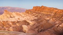 Red Cathedral (tburling) Tags: dawn deathvalley desert goldenhour landscape manlybeacon mountains panamint redcathedral rocks sandstone sedimentaryrocks zabriskiepoint furnacecreek california unitedstates us