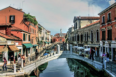 Venice (diminji (Chris)) Tags: italy venice canals bridges hdr hdrtoning colour outdoors outdoor