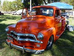 Chevrolet pickup truck (bballchico) Tags: chevrolet pickuptruck billetproof billetproofantioch carshow 1950s