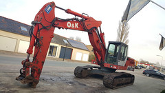 O&K RH6 (Vehicle Tim) Tags: ok rh6 bau baumaschine bagger kettenbagger machinery construction