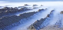 Backchannels (pauldunn52) Tags: cornwall widemouth bay rock layers long exposure sandstone sea