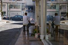 Roasting meat (Julysha) Tags: crete city street 2016 people greece travel d810 sigma241054art acr heraklion