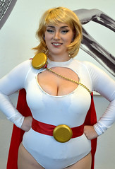 Power Girl cosplay by Chantel Marie Cosplay at Rhode Island Comic Con 2016 (FranMoff) Tags: rhodeislandcomiccon costume flickr cosplay powergirl cosplayer 2016 ricc