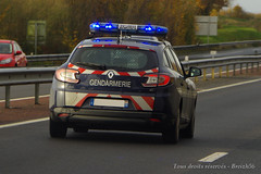 Renault Mgane Gendarmerie Nationale en intervention. (breizh56) Tags: france gendarmerienationale renault