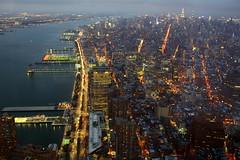Westside Highway, NYC (mudrax) Tags: newyorkcity nyc worldtradecenter wtc oneworldtrade oneworldobservatory empirestatebuilding downtownmanhattan manhattan canon brooklynbridge bridge