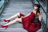 赤い花嫁 Red Wedding (SU QING YUAN) Tags: wedding red beauty beautiful model girl young pretty leg portrait 5d3 canon eos 50l 50f12 bestportraitsaoi