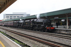 44871 45407 (matty10120) Tags: cardiff central class railway train rail transport black 5 lms british the welsh marches express