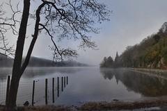 Trossachs ramblings (Anne Young2014) Tags: loch scotlandsbeauty scotlandfromtheroadside visitscotland scotspirit scotland aberfoyle kinlochard trossachs misty lochard