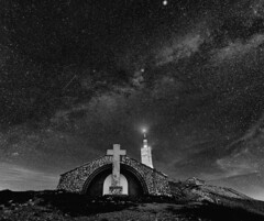 Mont Ventoux (Ludo_M) Tags: france europe stars sky milkyway night longexposure wideangle provence vaucluse ventoux trip travel ciel